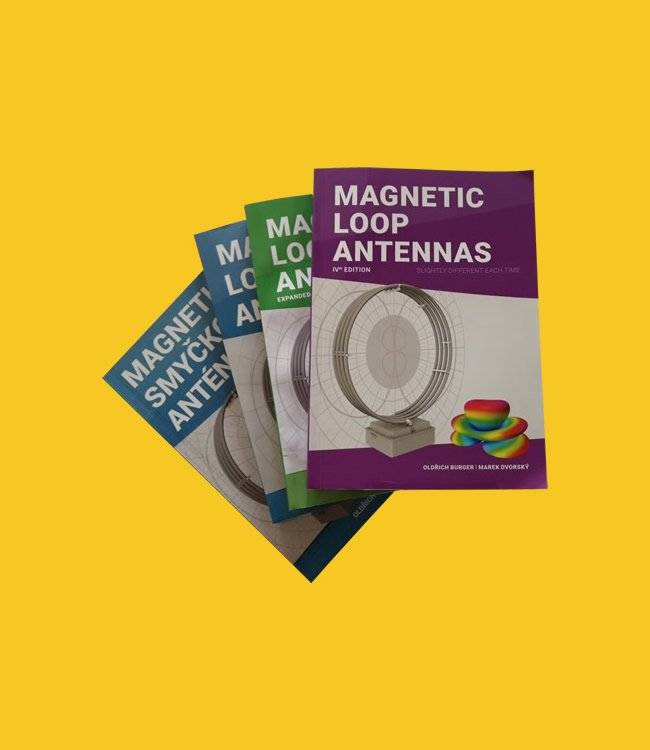 Book - Magnetic Loop Antenna 4th Edition