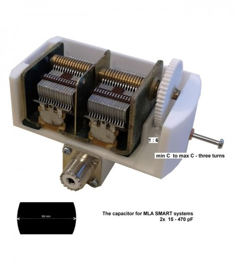 Capacitor for MLA SMART systems